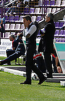 Real Valladolid´s coach Miroslav Djukic during match of La Liga 2012/13. 31/03/2013. Victor Blanco/Alterphotos /NortePhoto