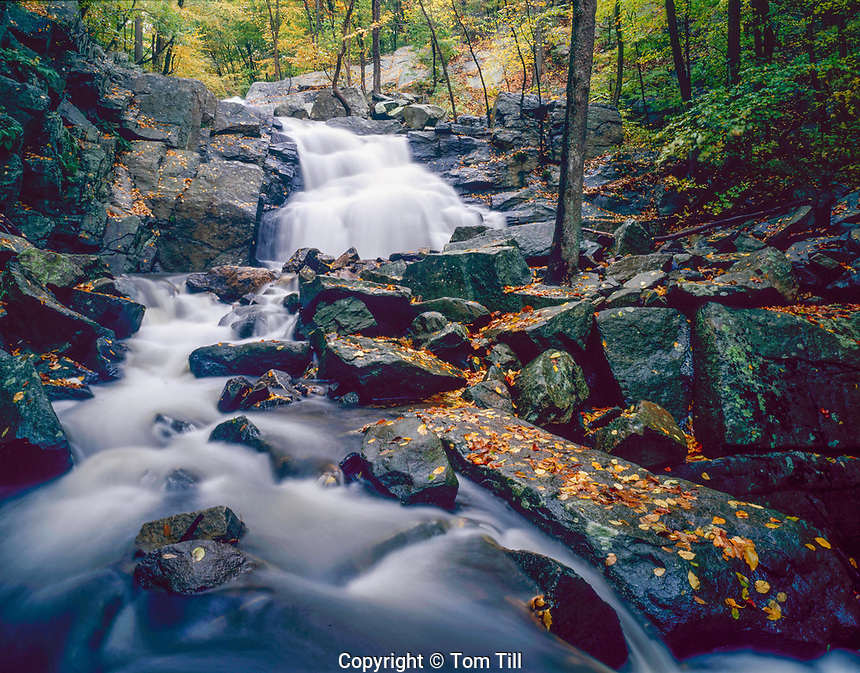 Electric Brook Falls, Schooleys's  Mountain Park, Morris County, New Jerssey