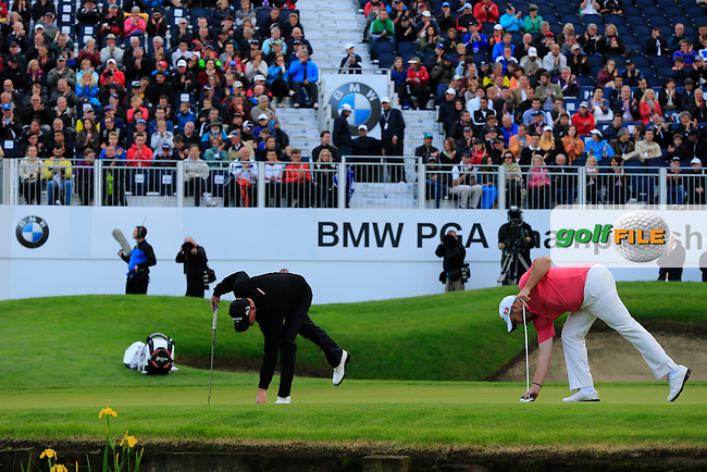 Anthony Wall (ENG) during round 3 of the BMW PGA championship, Wentworth Golf Club, Virginia Waters, London.<br /> Picture: Fran Caffrey www.golffile.ie