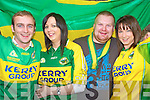 Confident of a Kerry victory in Jades bar, Killarney, were Sean Leane, Imelda Healy, Dan Collett and Michelle Healy.