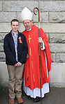 .Students from St Josephs CBS who made there confirmation with Coadjutor Archbishop Éamon Martin..Picture: Fran Caffrey / www.newsfile.ie ..