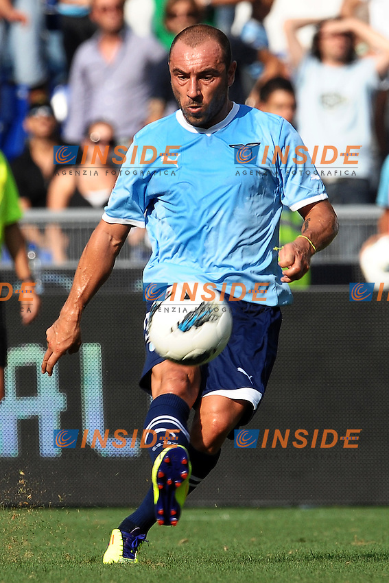 """Christian BROCCHI Lazio.Roma 25/9/2011 Stadio """"Olimpico"""".Football Calcio Serie A 2011/2012.Lazio Vs Palermo.Foto Insidefoto Andrea Staccioli"""