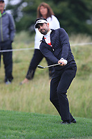 Lee Slattery (ENG) on the 7th green during Round 3 of the D+D Real Czech Masters at the Albatross Golf Resort, Prague, Czech Rep. 02/09/2017<br /> Picture: Golffile | Thos Caffrey<br /> <br /> <br /> All photo usage must carry mandatory copyright credit     (&copy; Golffile | Thos Caffrey)
