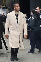 NEW YORK, NY- November 27: John Boyega at Good Morning America promoting Star Wars: The Rise of Skywalker on November 27, 2019  in New York City. <br /> CAP/MPI/RW<br /> ©RW/MPI/Capital Pictures