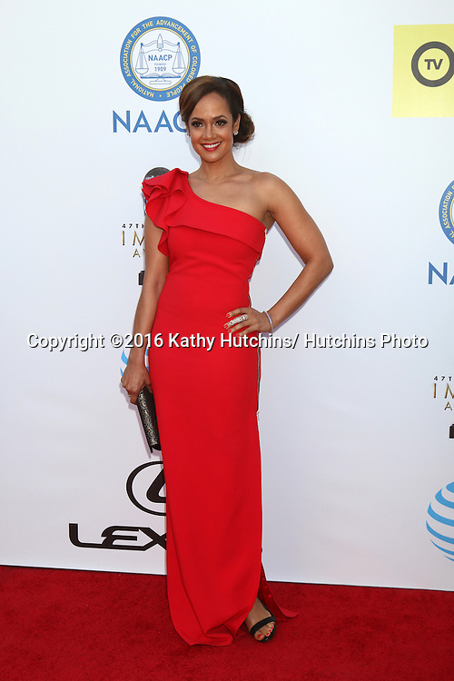 LOS ANGELES - FEB 5:  Tammy Townsend at the 47TH NAACP Image Awards Arrivals at the Pasadena Civic Auditorium on February 5, 2016 in Pasadena, CA