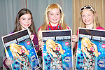 HANNAH FUN: Having fun at the Hannah Montana concert at the Fels Point Hotel on Saturday l-r: Sinead Deasy, Clodagh Harrington and Tracy O'Keeffe, Tralee.