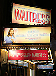 'Waitress' - Theatre Marquee