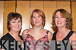 Having fun at the Mayor's Ball in the Malton Hotel Killarney on Saturday night were l-r: Sheila Riordian, Louise Gauchran and Sharon Macindoe all Killarney    Copyright Kerry's Eye 2008