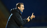 St Johnstone v Motherwell&hellip;17.12.16     McDiarmid Park    SPFL<br />James McFadden gives instructions<br />Picture by Graeme Hart.<br />Copyright Perthshire Picture Agency<br />Tel: 01738 623350  Mobile: 07990 594431