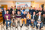 South Kerry Ploughing Championship and Harvest Show awards winners and Killarney Valley and Vintage members at the awards night in the Travel Inn Hotel, Fossa last Saturday night.