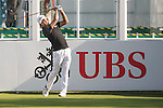 Juvic Pagunsan of Philippines tees off the first hole during the 58th UBS Hong Kong Open as part of the European Tour on 08 December 2016, at the Hong Kong Golf Club, Fanling, Hong Kong, China. Photo by Marcio Rodrigo Machado / Power Sport Images