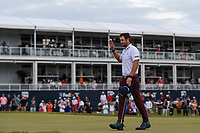 Lanto Griffin (USA) after sinking his putt on 18 to win the 2019 Houston Open, Golf Club of Houston, Houston, Texas, USA. 10/13/2019.<br /> Picture Ken Murray / Golffile.ie<br /> <br /> All photo usage must carry mandatory copyright credit (© Golffile | Ken Murray)