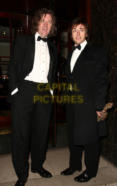 JAMES MAY & RICHARD HAMMOND.Royal Television Society Awards - RTS Programme Awards 2007 - Arrivals, Grosvenor House, Park Lane, London, W1, England, March 19 2008. .full length.CAP/FEE.©Capital Pictures