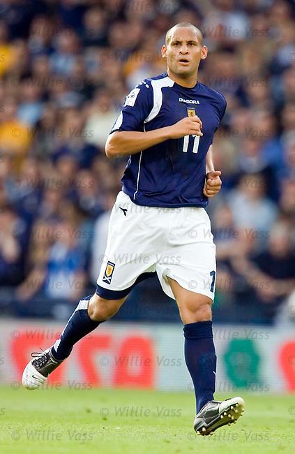 Nigel Quashie, Scotland.stock season 2005-2006.pic willie vass