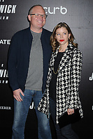 "Derek Kolstad and guest at the World Premiere of ""John Wick: Chapter 3 Parabellum"", held at One Hanson in Brooklyn, New York, USA, 09 May 2019"