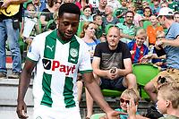 GRONINGEN - Voetbal, Opendag FC Groningen, seizoen 2018-2019, 05-08-2018, FC Groningen speler Deyovaisio Zeefuik