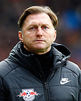 Ralph HASENHUETTL  (HASENHUETTL), Chef-Trainer RB Leipzig,  Portraet,   Fussball, 1. Bundesliga  2017/2018<br /> <br />  Football: Germany, 1. Bundesliga, SC Freiburg vs RB Leipzig, 20.01.2018. *** Local Caption *** © pixathlon