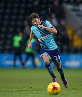 Scott Kashket of Wycombe Wanderers during the Sky Bet League 2 match between Notts County and Wycombe Wanderers at Meadow Lane, Nottingham, England on 10 December 2016. Photo by Andy Rowland.