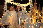 Catch the Glow Holiday Celebration, parade, Estes Park, Colorado, USA
