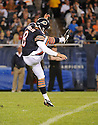 ADAM PODLESH (8), of the Chicago Bears, in action during the Bears preseason game against the Denver Broncos on August 9, 2012 at Soldier Field in Chicago, IL. The Broncos beat the Bears 31-3.