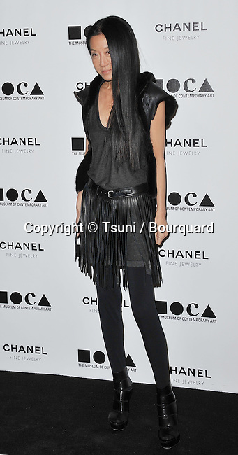 Vera Wang  - Moca Hapening Evening 2010 in Los Angeles.