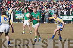 St Brendan's College's Gary O'Leary and De La Salle College Cathal Vaughan.