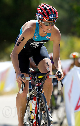 31 MAY 2009 - MADRID,ESP - Nicky Samuels - ITU World Championships Series Womens Triathlon .(PHOTO (C) NIGEL FARROW)