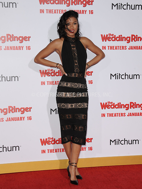 WWW.ACEPIXS.COM<br /> <br /> January 6 2015, LA<br /> <br /> Eniko Parrish arriving at 'The Wedding Ringer' World Premiere at the TCL Chinese Theatre on January 6, 2015 in Hollywood, California. <br /> <br /> <br /> By Line: Peter West/ACE Pictures<br /> <br /> <br /> ACE Pictures, Inc.<br /> tel: 646 769 0430<br /> Email: info@acepixs.com<br /> www.acepixs.com