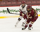 Haley Mullins (Harvard - 26), Kristyn Capizzano (BC - 7) - The visiting Boston College Eagles defeated the Harvard University Crimson 2-0 on Tuesday, January 19, 2016, at Bright-Landry Hockey Center in Boston, Massachusetts.