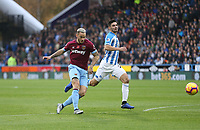 West Ham United's Marko Arnautovic has a first half shot<br /> <br /> Photographer Rob Newell/CameraSport<br /> <br /> The Premier League - Huddersfield Town v West Ham United - Saturday 10th November 2018 - John Smith's Stadium - Huddersfield<br /> <br /> World Copyright © 2018 CameraSport. All rights reserved. 43 Linden Ave. Countesthorpe. Leicester. England. LE8 5PG - Tel: +44 (0) 116 277 4147 - admin@camerasport.com - www.camerasport.com