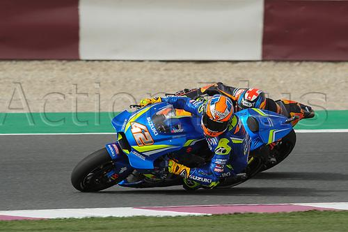 17th March 2018, Losail International Circuit, Lusail, Qatar; Qatar Motorcycle Grand Prix, Saturday qualifying; Alex Rins (Suzuki Ecstar)