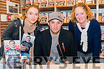 """Katie and Catherine Twomey from Ballyvourney at the """"Me and My Mate Jeffrey"""" book signing with Niall Breslin in the Eason, Killarney last Saturday."""
