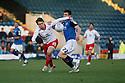 Luke Freeman of Stevenage and Stephen Jordan of Rochdale.Rochdale v Stevenage - npower League 1 - Spotland, Rochdale - 14th January, 2012.© Kevin Coleman 2012