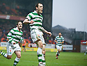 :: ANTHONY STOKES CELEBRATES AFTER HE  SCORES CELTIC'S FIRST ::