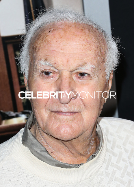 BEVERLY HILLS, CA, USA - OCTOBER 01: Robert Loggia arrives at the Los Angeles Premiere Of Warner Bros. Pictures And Village Roadshow Pictures' 'The Judge' held at the Samuel Goldwyn Theatre at The Academy of Motion Picture Arts and Sciences on October 1, 2014 in Beverly Hills, California, United States. (Photo by Xavier Collin/Celebrity Monitor)