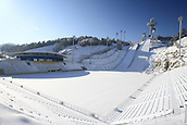 2017, PyeongChang, South Korea;   Alpensia Ski Jump Stadium  in Pyeongchang, Gangwon province, South Korea. The International Olympic Committee carried out on-site inspection of the area in mid-February 2011 following the city's bid to host the 2018 Winter Games.