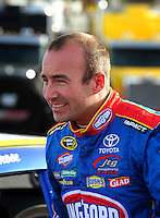 Feb. 27, 2009; Las Vegas, NV, USA; NASCAR Sprint Cup Series driver Marcos Ambrose during qualifying for the Shelby 427 at Las Vegas Motor Speedway. Mandatory Credit: Mark J. Rebilas-