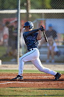 Harry Ford (7) during the WWBA World Championship at the Roger Dean Complex on October 13, 2019 in Jupiter, Florida.  Harry Ford attends North Cobb High School in Kennesaw, GA and is committed to Georgia Tech.  (Mike Janes/Four Seam Images)