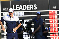 Justin Rose (ENG) on the 17th green during Sunday's Final Round of the 2018 Turkish Airlines Open hosted by Regnum Carya Golf &amp; Spa Resort, Antalya, Turkey. 4th November 2018.<br /> Picture: Eoin Clarke | Golffile<br /> <br /> <br /> All photos usage must carry mandatory copyright credit (&copy; Golffile | Eoin Clarke)