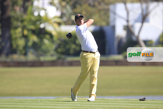 Victor Pastor Rufian (ESP) during the 3rd round of the European Nations Cup, Real Club de Golf Sotogrande, Paseo del Parque, 11310 Sotogrande, C&aacute;diz  31/03/2017.<br /> Picture: Golffile | Fran Caffrey<br /> <br /> <br /> All photo usage must carry mandatory copyright credit (&copy; Golffile | Fran Caffrey)