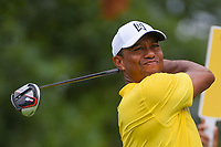 Tiger Woods (USA) watches his tee shot on 6 during Rd3 of the 2019 BMW Championship, Medinah Golf Club, Chicago, Illinois, USA. 8/17/2019.<br /> Picture Ken Murray / Golffile.ie<br /> <br /> All photo usage must carry mandatory copyright credit (© Golffile   Ken Murray)