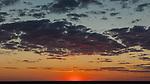 Sunset Over The Etosha Salt Pan.