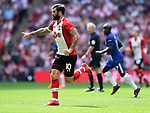 Charlie Austin of Southampton during the FA cup semi-final match at Wembley Stadium, London. Picture date 22nd April, 2018. Picture credit should read: Robin Parker/Sportimage