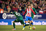 Antoine Griezmann of Atletico de Madrid in action during their La Liga 2016-17 match between Atletico de Madrid vs Real Betis Balompie at the Vicente Calderon Stadium on 14 January 2017 in Madrid, Spain. Photo by Diego Gonzalez Souto / Power Sport Images