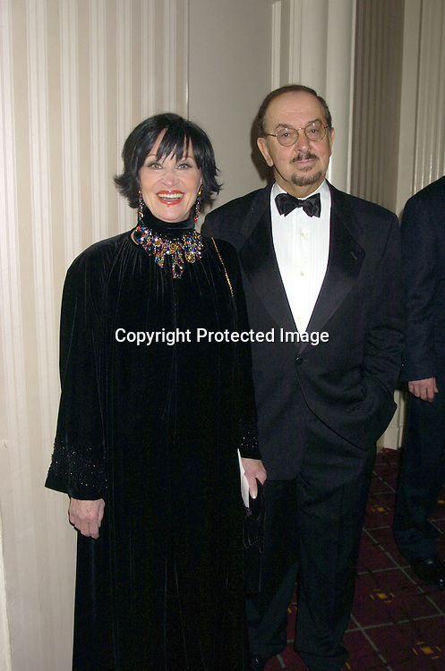 Chita Rivera and Robert Nahas ..at The 30th Anniversary of The New Yorker for New York Awards on February 14, 2005 at The Waldorf Astoria Hotel...Photo by Robin Platzer, Twin Images