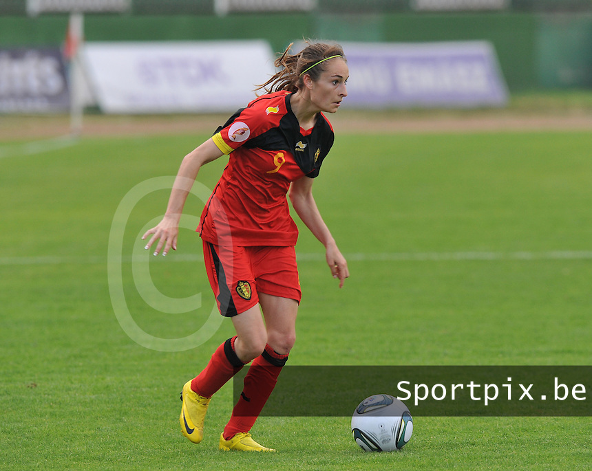 Hungary - Hongarije : UEFA Women's Euro Qualifying group stage (Group 3) - 20/06/2012 - 17:00 - szombathely  - : Hungary ( Hongarije ) - BELGIUM ( Belgie) :.Tessa Wullaert.foto DAVID CATRY / JOKE VUYLSTEKE / Vrouwenteam.be.