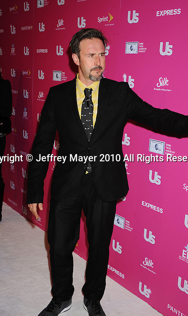 """HOLLYWOOD, CA. - November 18: David Arquette arrives at US Weekly's Hot Hollywood """"Stars Who Care"""" Event at The Colony on November 18, 2010 in Los Angeles, California."""
