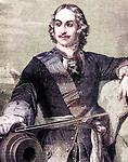Czar Peter I (aka Peter the Great) (1672-1725), Czar of Russia (1682-1725)
