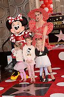 LOS ANGELES - JAN 22:  Minnie Mouse, Katy Perry, nieces at the Minnie Mouse Star Ceremony on the Hollywood Walk of Fame on January 22, 2018 in Hollywood, CA