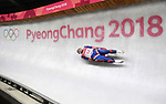 Josef Ninis (SVK). Mens luge. Pyeongchang2018 winter Olympics. Alpensia sliding centre. Alpensia. Gangneung. Republic of Korea. 11/02/2018. ~ MANDATORY CREDIT Garry Bowden/SIPPA - NO UNAUTHORISED USE - +44 7837 394578